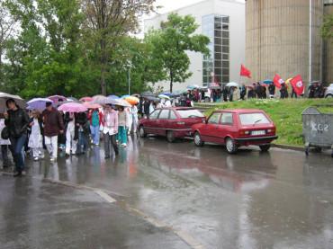 Штрајк упозорења (25.04.2012.)