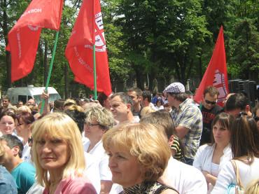Одлука о ступању у штрајк упозорења (29.06.2012.)