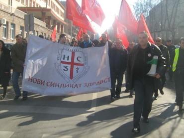 Окружница Председника Новог синдиката здравства Србије