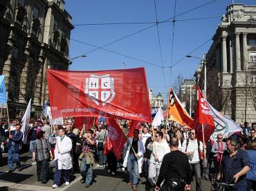 Заједнички протест 25.03.2011.