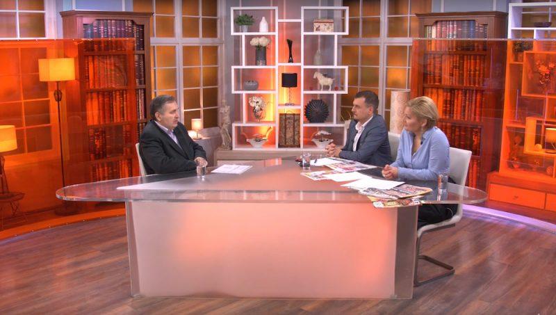 """GOSTOVANJE ŽIVORADA MRKIĆA, PREDSEDNIKA NOVOG SINDIKATA ZDRAVSTVA SRBIJE U JUTARNJEM PROGRAMU """"HAPPY TV"""", 23.02.2019.god."""